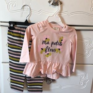 ♠️Kate Spade (12M) Sugar rose set babies NWT🌸